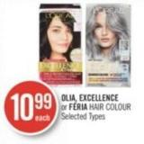 Olia - Excellence or Féria Hair Colour