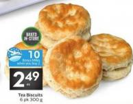 Tea Biscuits - 10 Air Miles Bonus Miles