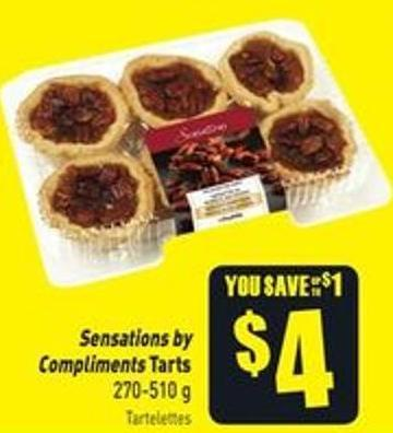 Sensations By Compliments Tarts 270-510 g