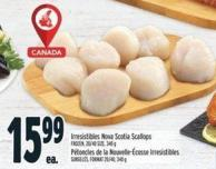 Irresistibles Nova Scotia Scallops