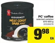 PC Coffee - 875-930 g