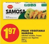 Pran Vegetable Samosa - 400 g