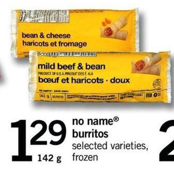 No Name Burritos - 142 G