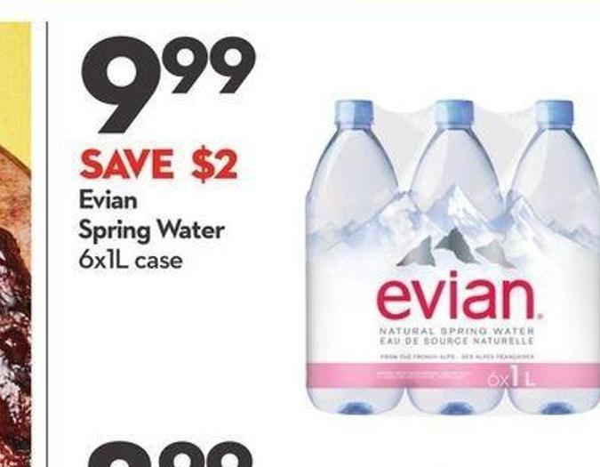 Evian Spring Water