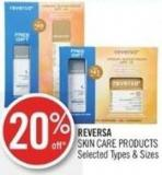 Reversa Skin Care Products