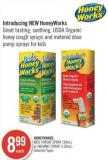 Honeyworks Kids Throat Spray (30ml) or Organic Syrup (118ml)