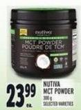 Nutiva Mct Powder 300 g