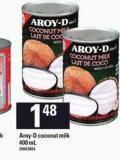 Aroy-d Coconut Milk - 400 mL