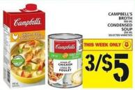 Campbell's Broth Or Condensed Soup