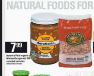 Nature's Path Organic Cereal - 650-907 G Or Maranatha Spreads - 340-500 G
