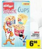 Kellogg's Snack Cups - 424 g