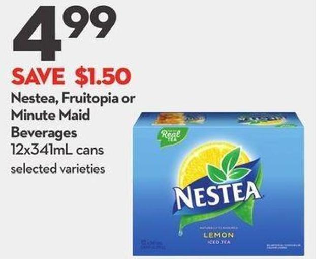 Nestea - Fruitopia or Minute Maid Beverages