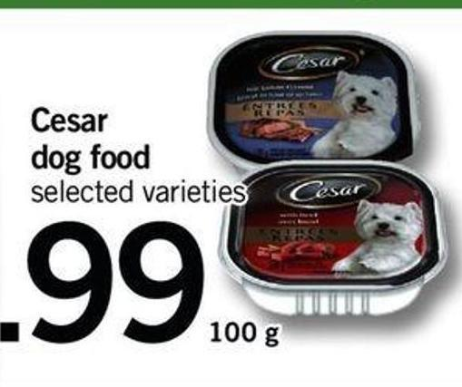 Cesar Dog Food - 100 G
