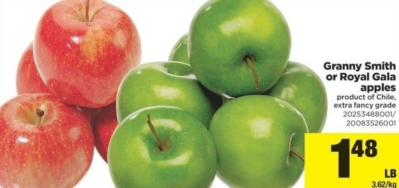 Granny Smith Or Royal Gala Apples