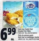High Liner Family Pack Breaded Fish Fillets
