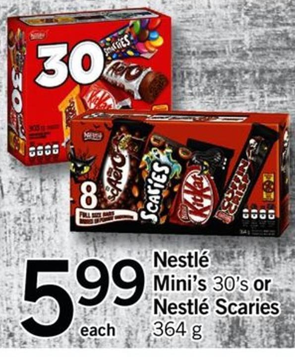 Nestlé Mini's - 30's Or Nestlé Scaries - 364 G
