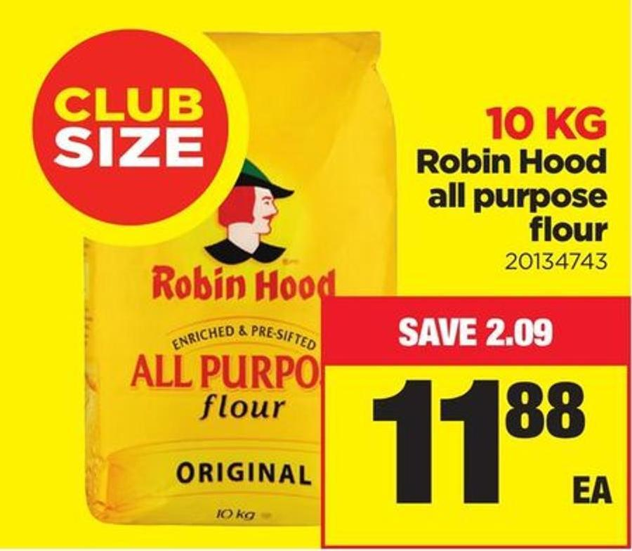 Robin Hood All Purpose Flour 10 Kg