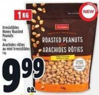 Irresistibles Honey Roasted Peanuts
