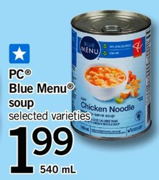 PC Blue Menu Soup - 540 Ml