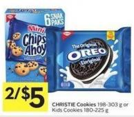Christie Cookies 198-303 g or Kids Cookies 180-225 g