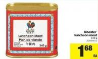 Rooster Luncheon Meat - 340 g