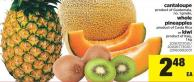 Cantaloupe - Whole Pineapples or Kiwi - 1 Kg