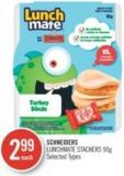 Schneiders Lunchmate Stackers 90 g