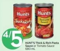 Hunt's Thick & Rich Pasta