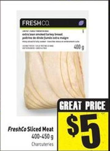 Freshco Sliced Meat 400-450 g
