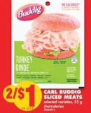 Carl Buddig Sliced Meats