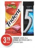 Trident Layers - 5 or Stride Multipack GUM 3's
