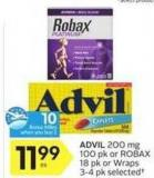 Advil - 10 Air Miles Bonus Miles