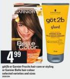 Göt2b Or Garnier Frucits Hair Care Or Styling Or Garnier Belle Hair Colour