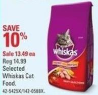 Selected Whiskas Cat Food