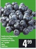 Family Size Blueberries - 340 g
