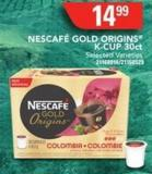 Nescafé Gold Origins K-cup 30ct