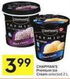 Chapman's Premium Ice Cream Selected 2 L