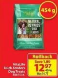 Vitalife Duck Tenders Dog Treats 454 g