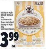 Bakery On Main Instant Oatmeal