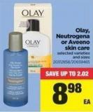 Olay - Neutrogena Or Aveeno Skin Care