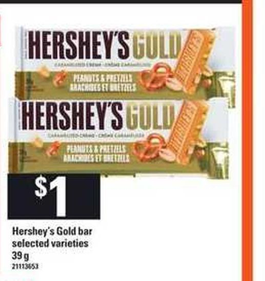 Hershey's Gold Bar - 39 g