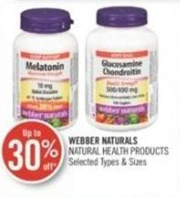 Webber Naturals  Natural Health Products