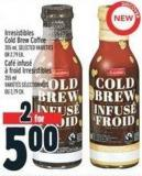 Irresistibles Cold Brew Coffee 355 ml