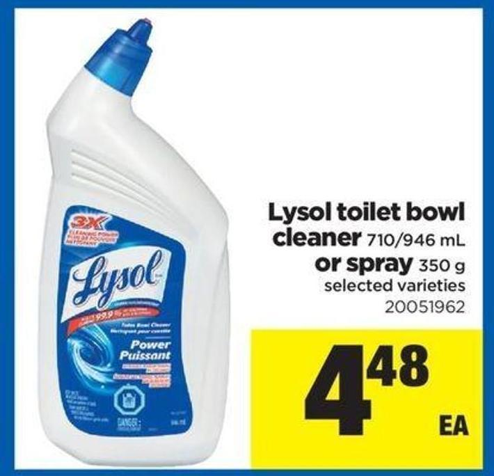 Lysol Toilet Bowl Cleaner 710 946 On Sale
