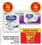Royale Original or Velour Bathroom