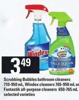 Scrubbing Bubbles Bathroom Cleaners On Sale