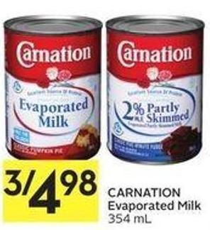 Carnation Evaporated Milk 354 mL