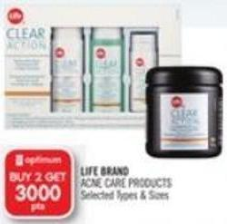 Life Brand Acne Care Products