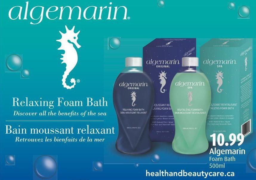 Algemarin Foam Bath 500ml