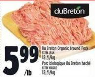 Du Breton Organic Ground Pork
